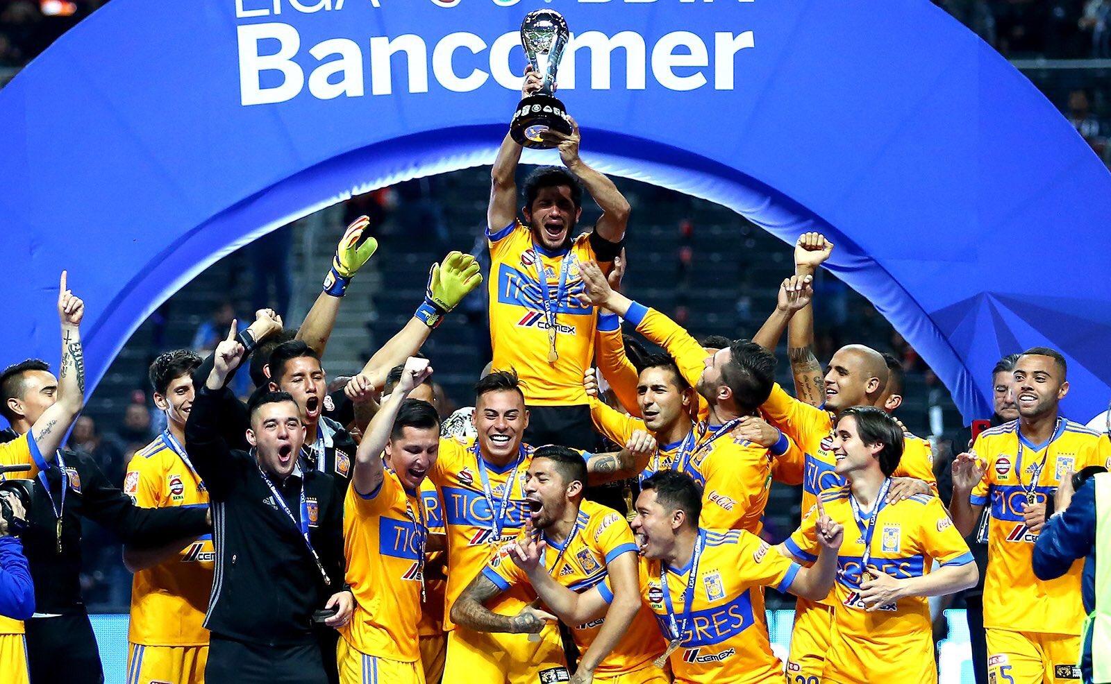 Tigres conquista sexto título en el futbol mexicano