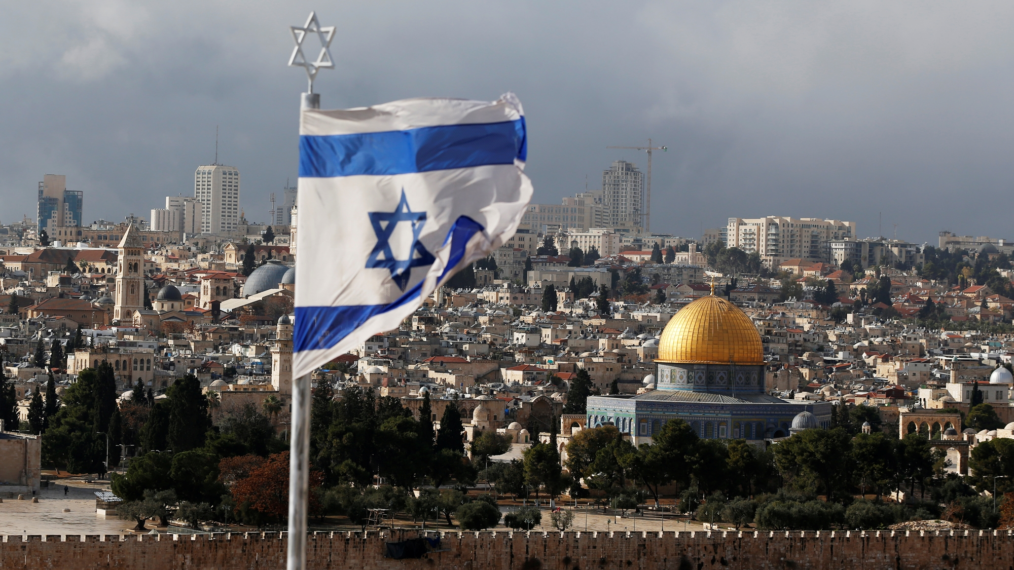 Miles protestan en 'día de furia' por decisión de EU sobre Jerusalén