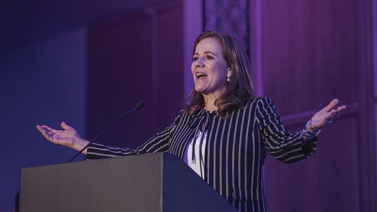 Estoy convencida que México puede crecer 5%: Margarita Zavala