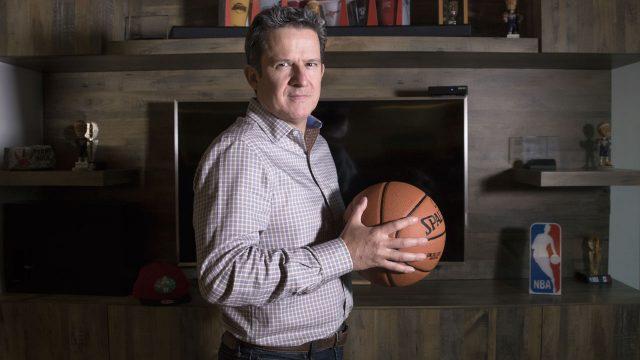 Raúl Zarraga, director de NBA México. (Foto: Raúl Martínez).