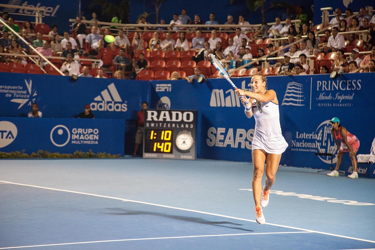 Abierto de Acapulco también es el ATP 500 favorito de las tenistas