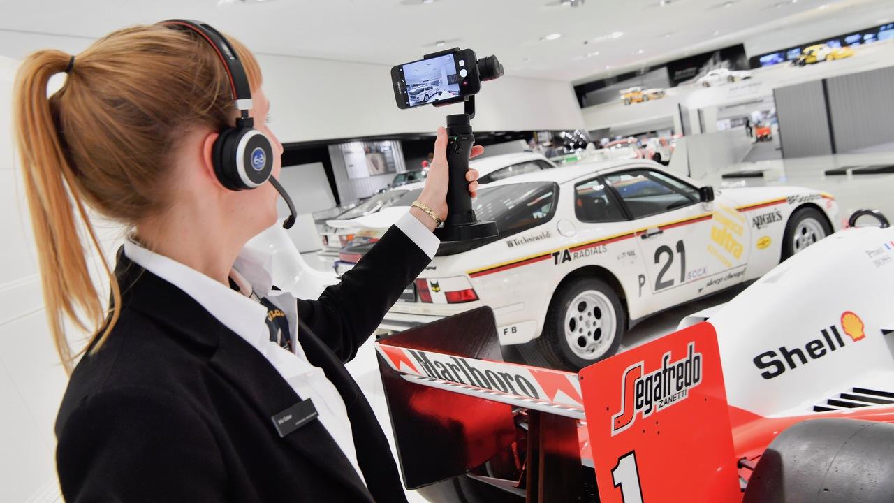 Visita el Museo Porsche sin salir de casa