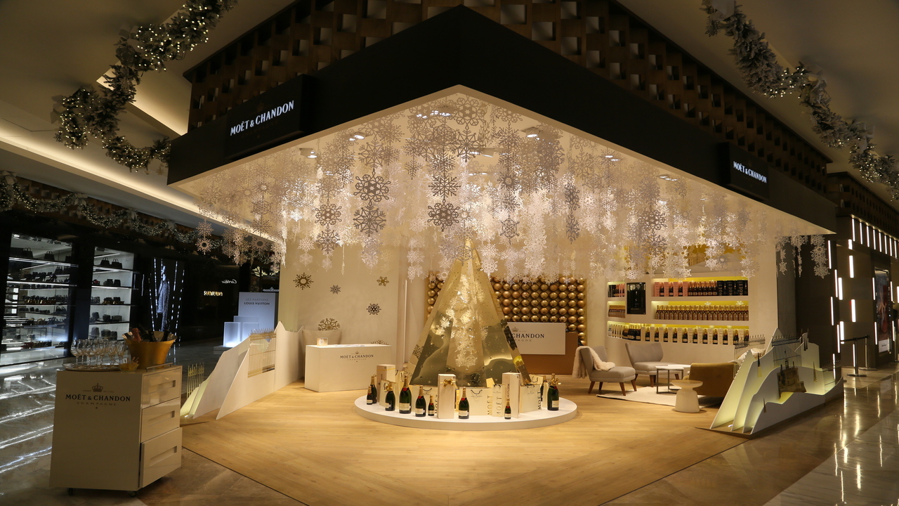 ¿Fan del champagne? visita esta nueva pop-up store