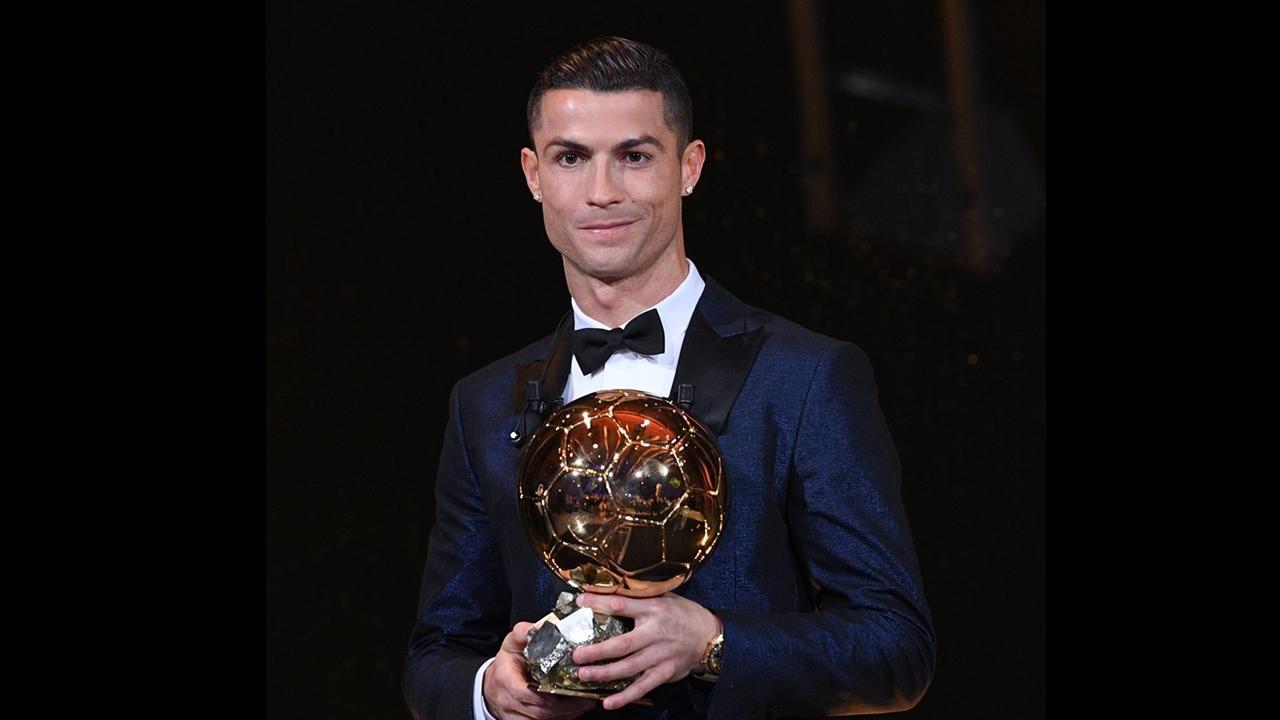 Cristiano Ronaldo se lleva su quinto Balón de Oro
