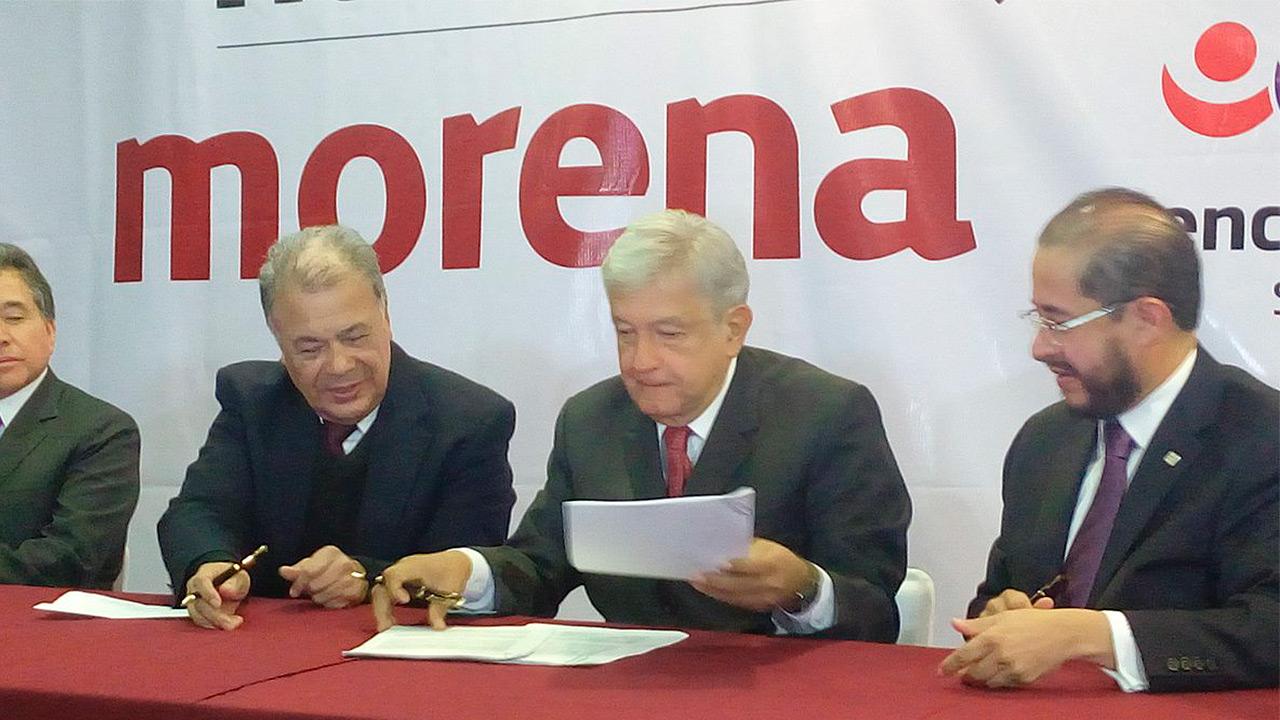 Morena define candidaturas plurinominales, va Gómez Urrutia