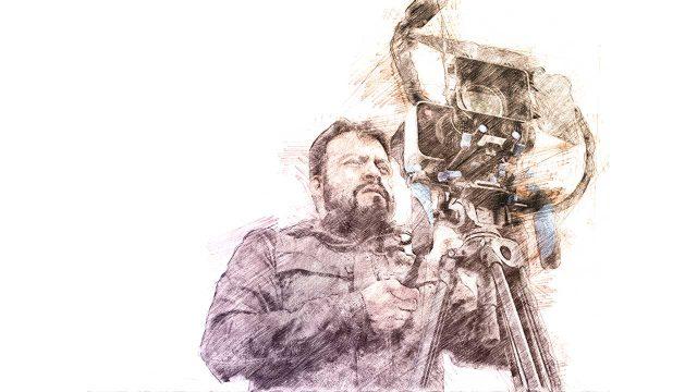 Edgardo Aragón. Ilustración digital sobre una fotografía de José Teodoro.