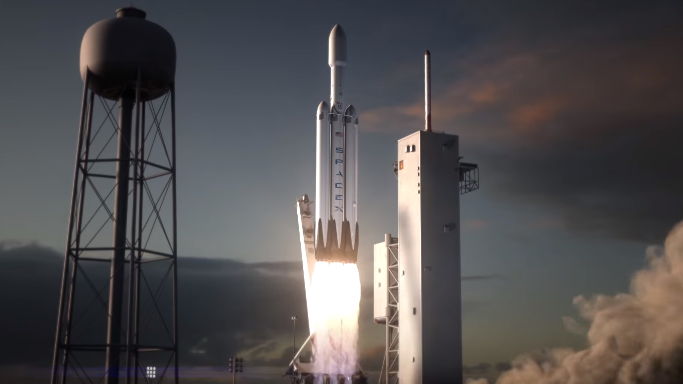 falcon heavy-spacex