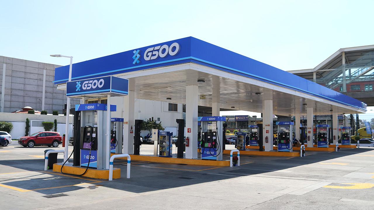 G500 prevé cerrar 2018 con 500 gasolineras en el país