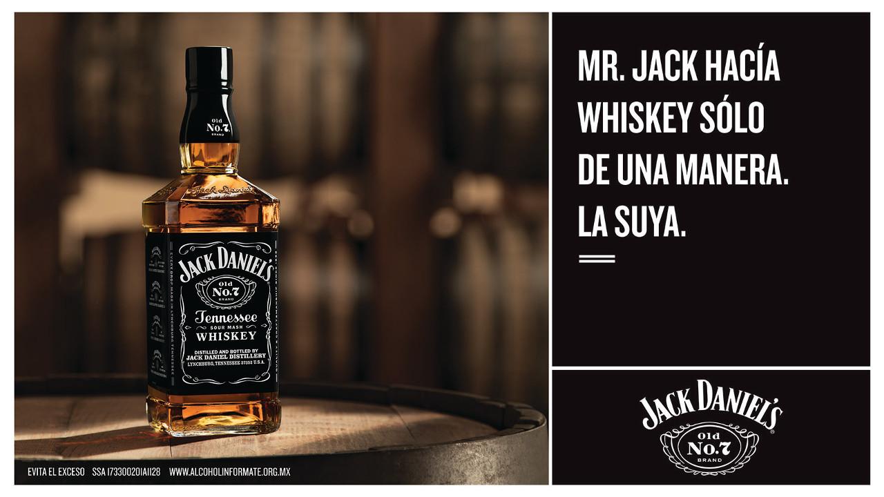 Jack Daniel's y el legado de la verdadera grandeza