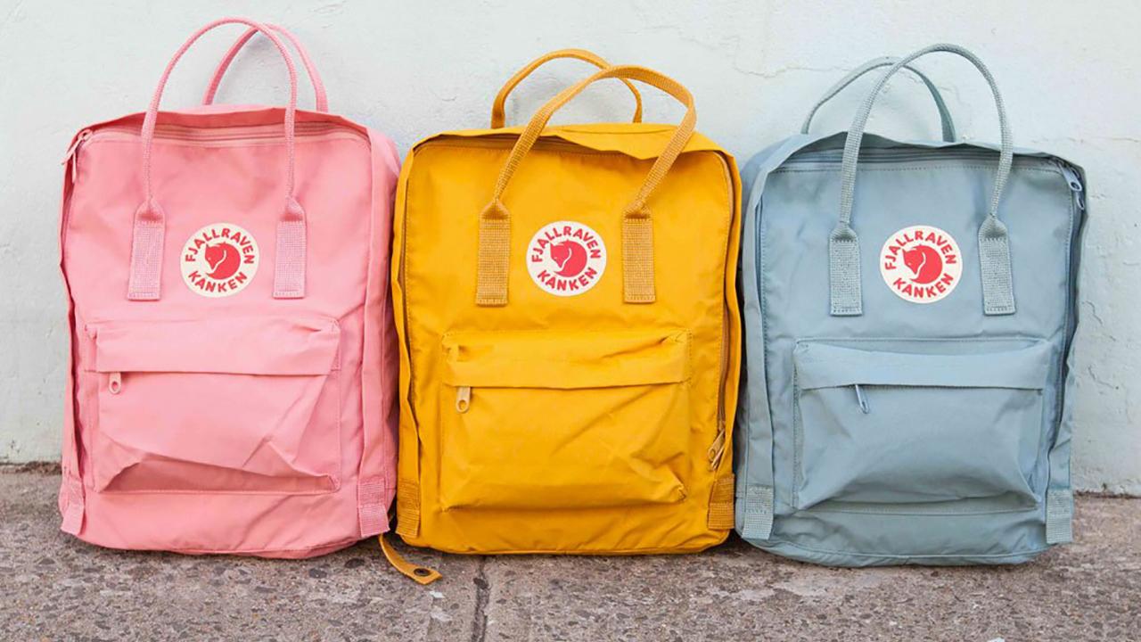 La mochila must de los millennials es la Kånken Bag