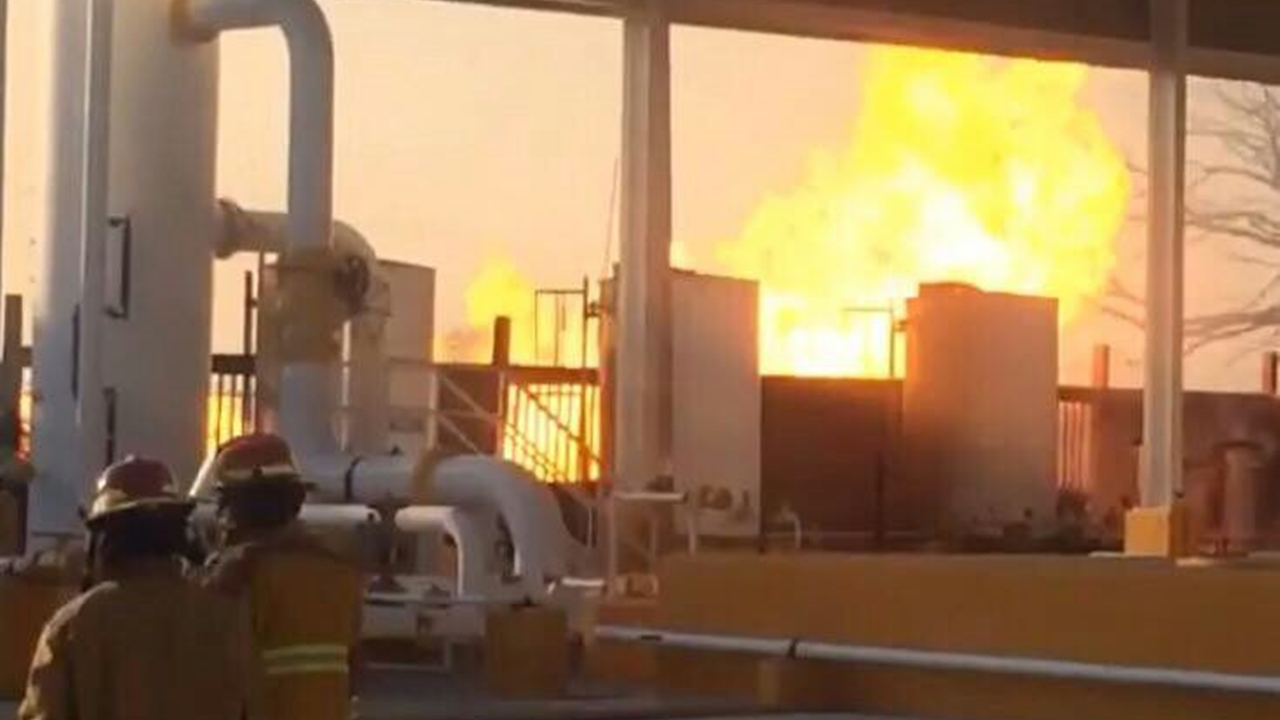 Pemex registra incendio en instalación en Tamaulipas