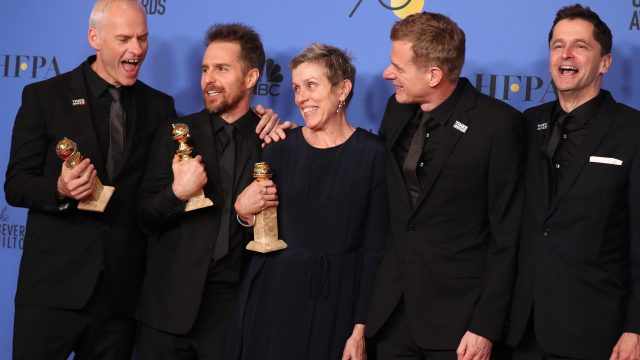 Ganadores del Globo de Oro en cartelera