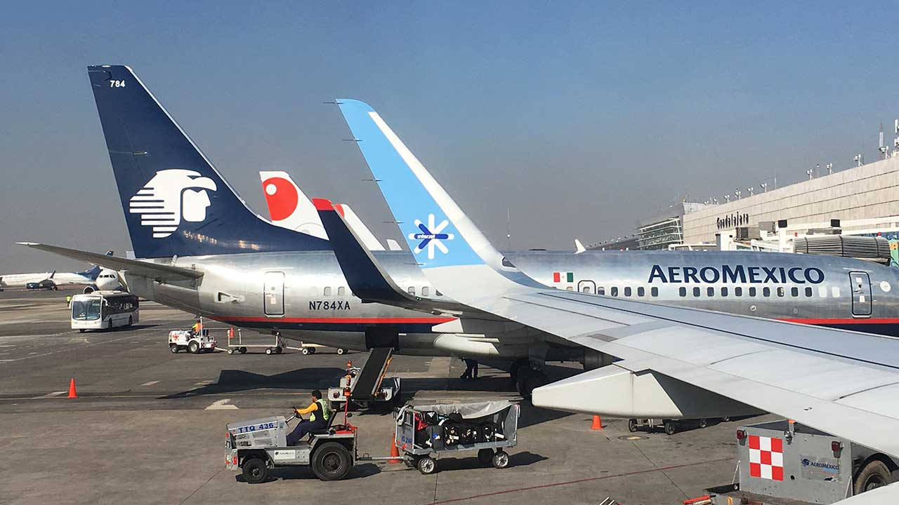 Hasta el momento 64 personas han sido dadas de alta: Aeroméxico