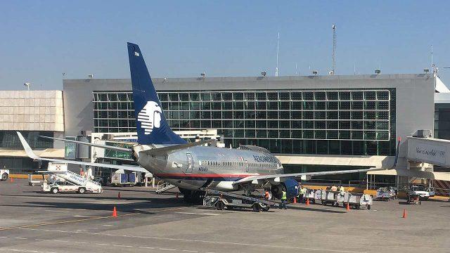 Aeroméxico, Aeropuerto internacional de Guadalajara. (Foto: Angélica Escobar/Forbes México).