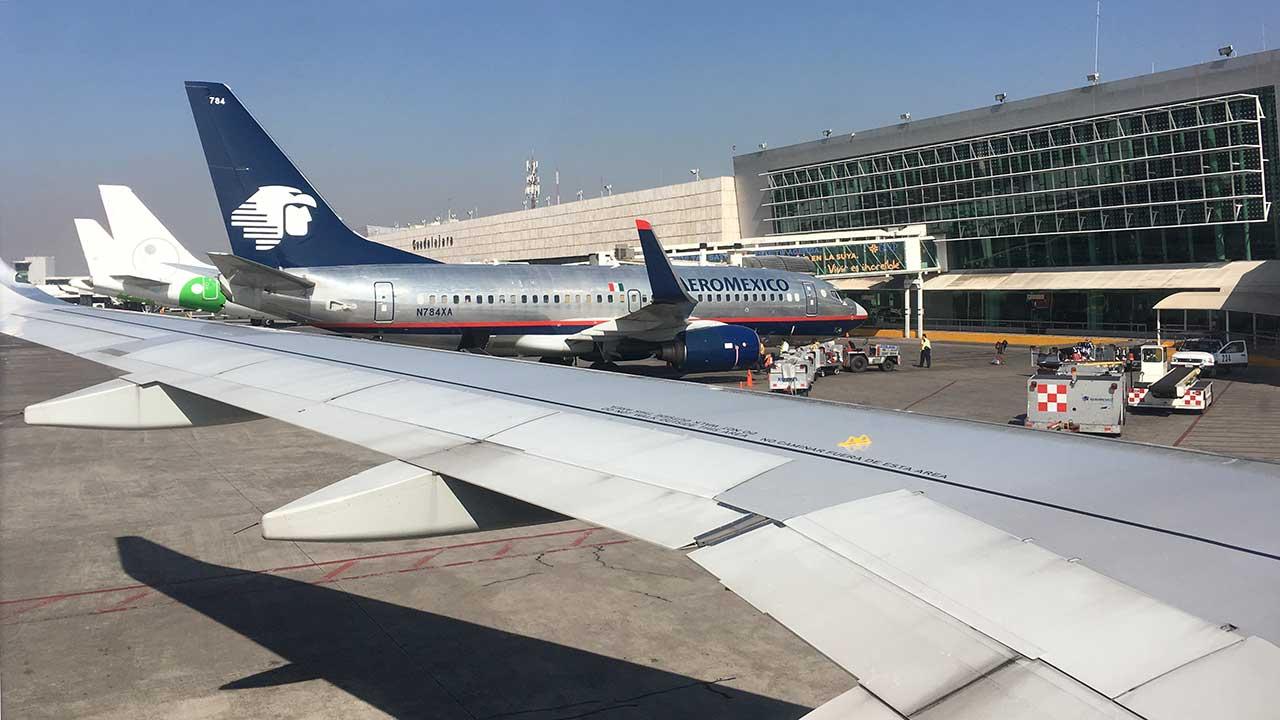 Avión de Aeroméxico en Aeropuerto Internacional de Guadalajara. (Foto: Angélica Escobar/Forbes México).