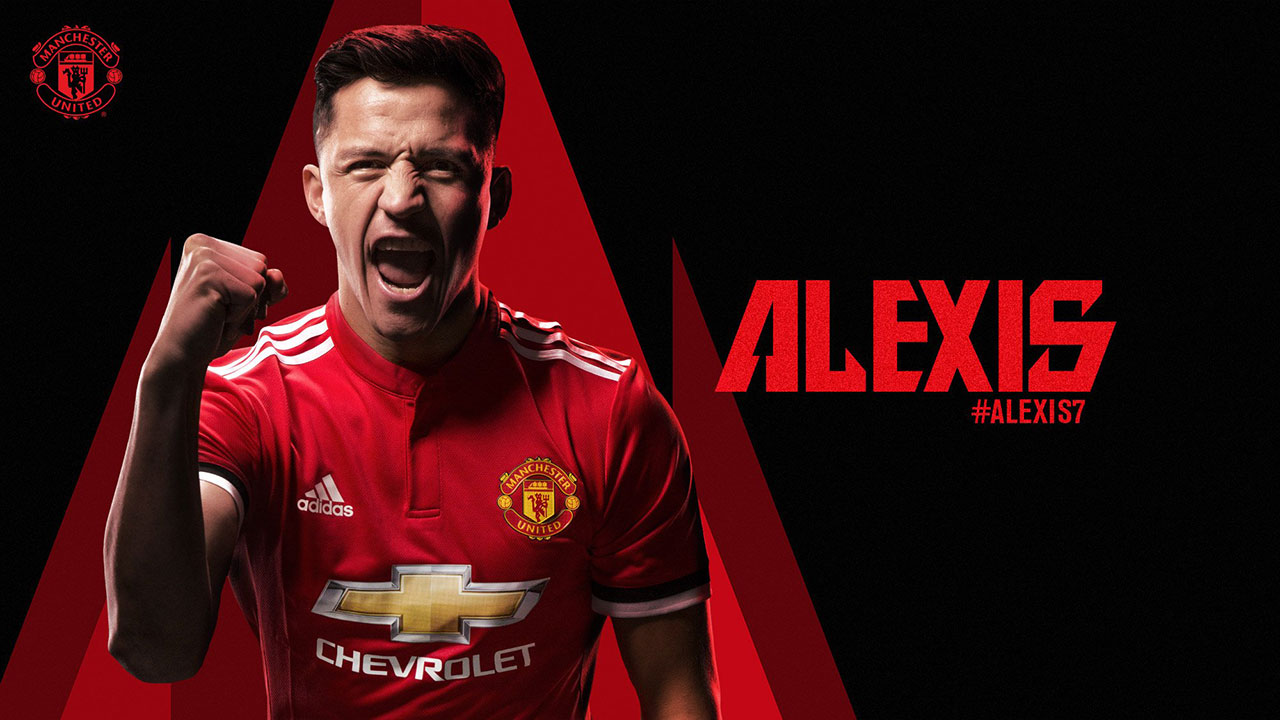 Manchester United anuncia contratación de chileno Alexis Sánchez