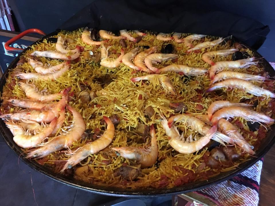Comida española en la ciudad de México