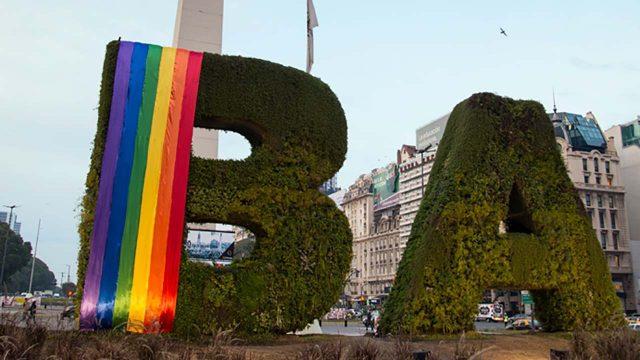 Buenos Aires, ciudad en la que el turismo LGBT es clave