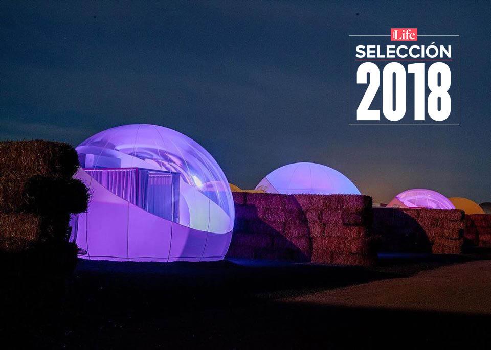 Selección Life 2018 | Atrévete a dormir en una burbuja con techo de estrellas