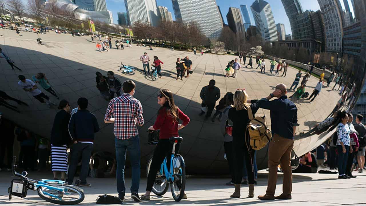 Chicago rompe récord de visitantes