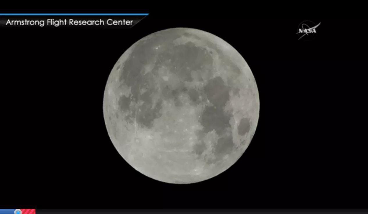 Así se ve la superluna azul de sangre desde la NASA