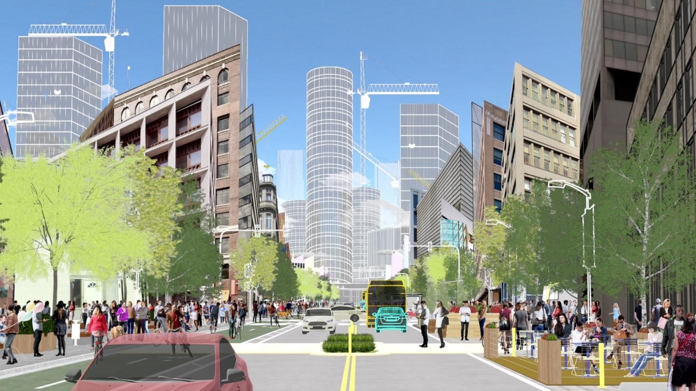 CES 2018 | Así visualiza Ford las calles del futuro