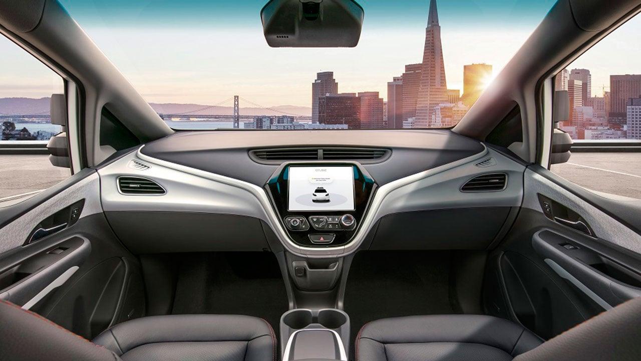 GM crea el primer vehículo autónomo sin volante ni pedales