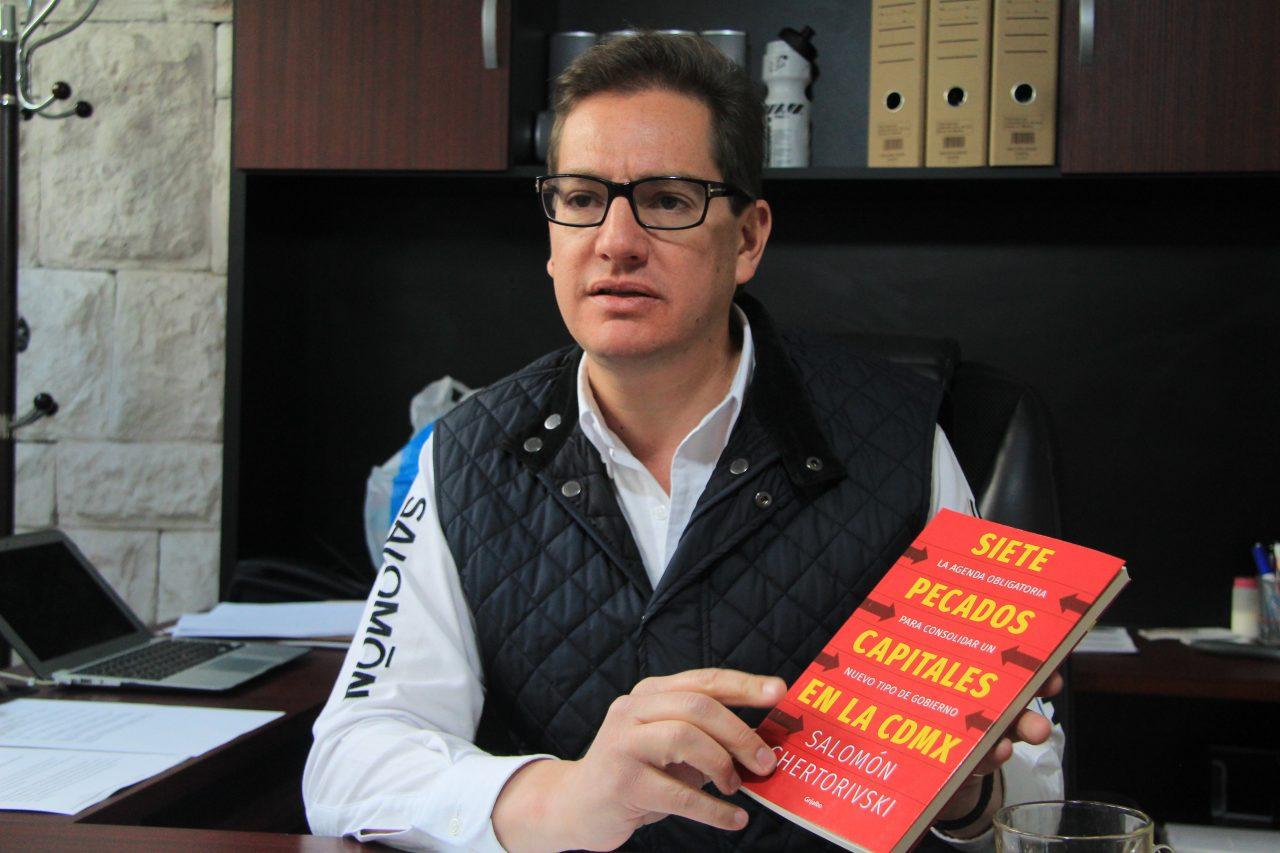 Entrevista | Chertorivski promete distribuir mejor la riqueza en la CDMX