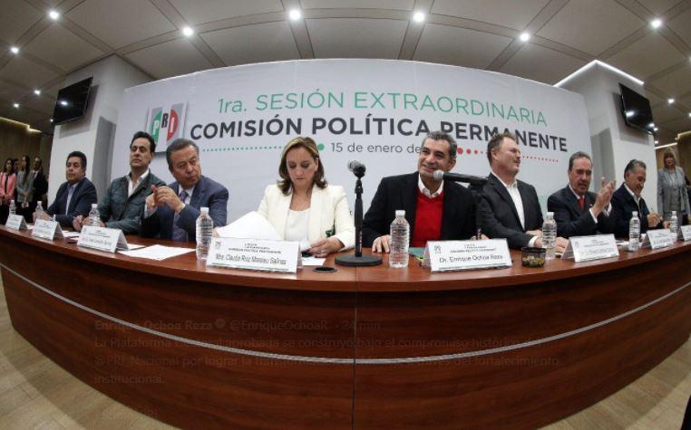 """""""Todos por México"""" será el nuevo nombre de la coalición del PRI"""