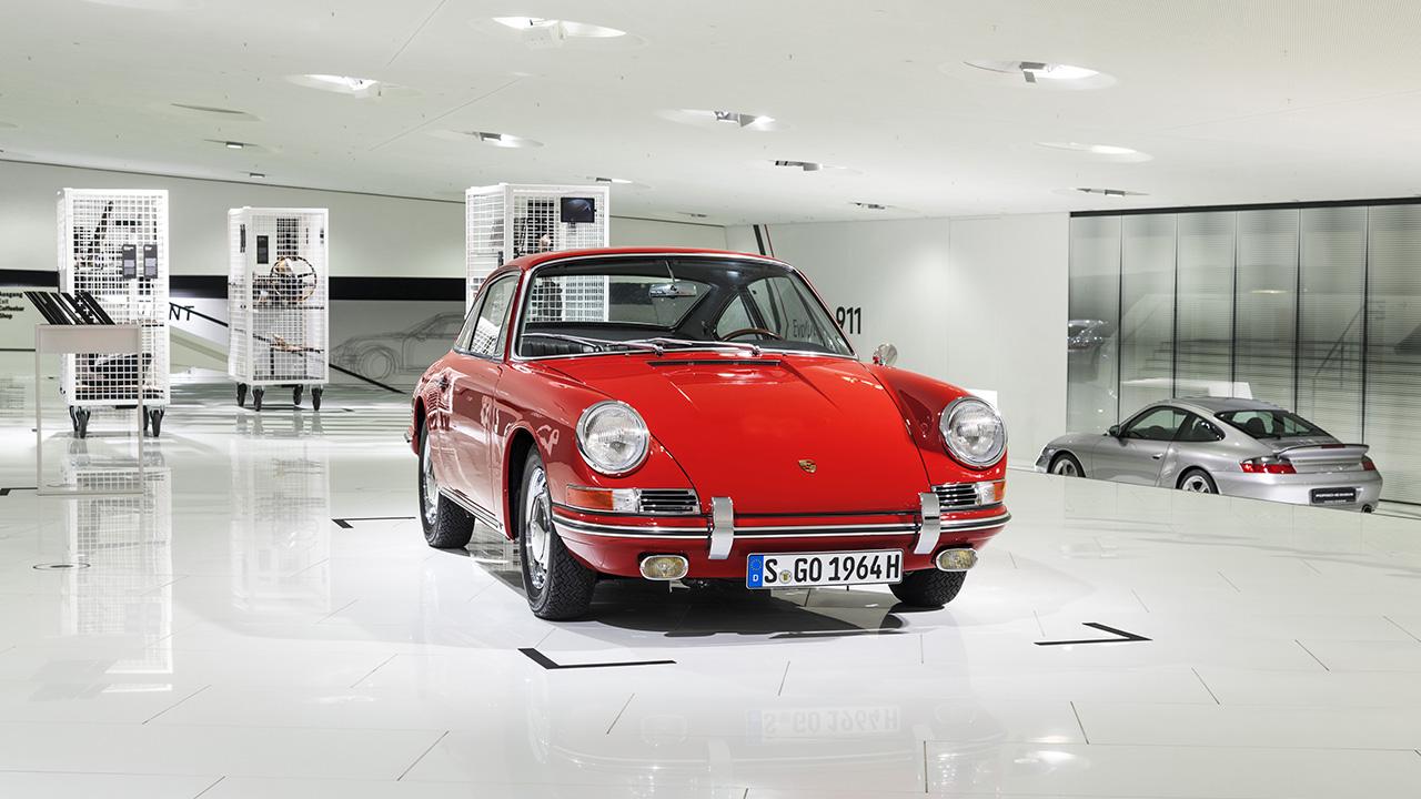 El Museo Porsche exhibe su 911 más antiguo