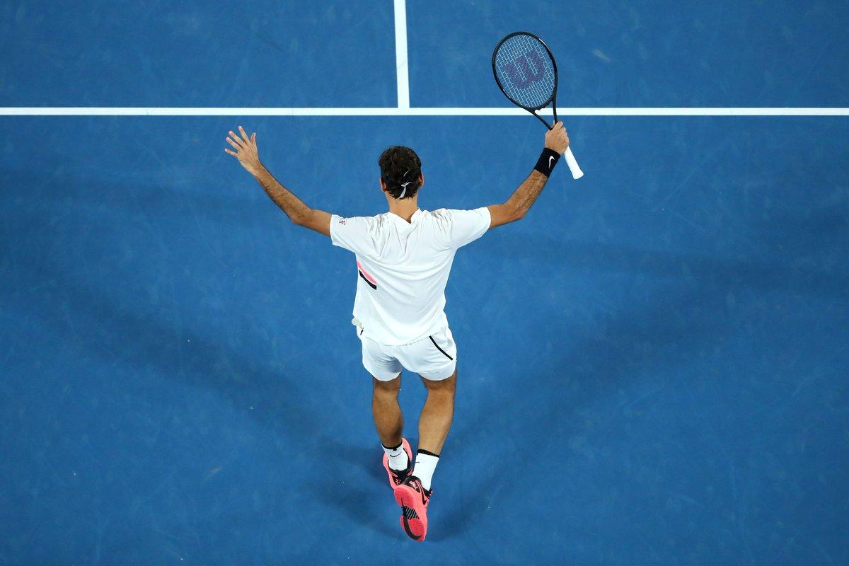 Federer avanza a la final de Róterdam tras derrotar a Andreas Seppi