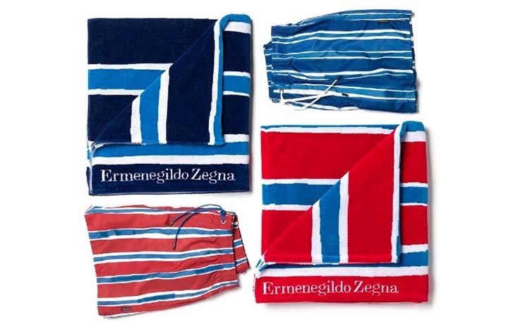 Zegna presenta su primera colección de playa