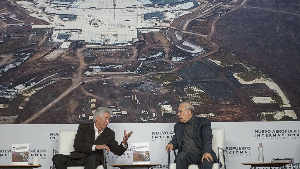 OCDE recomienda al gobierno transparentar aún más el Nuevo Aeropuerto