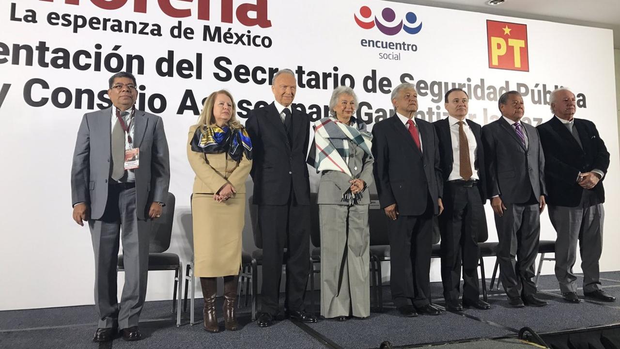 AMLO propone a Alfonso Durazo como su secretario de Seguridad Pública