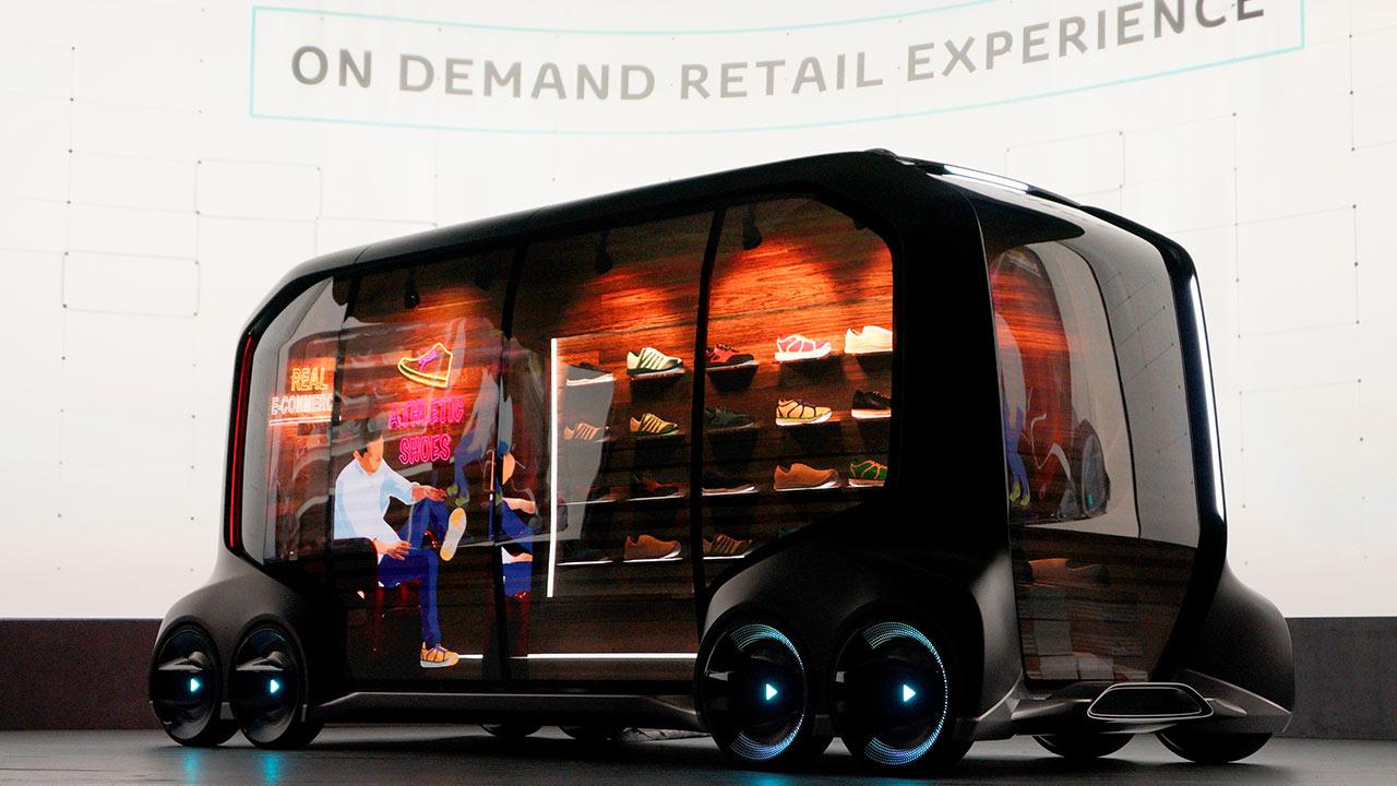 e‐Palette, una propuesta para transportar personas y mercancías