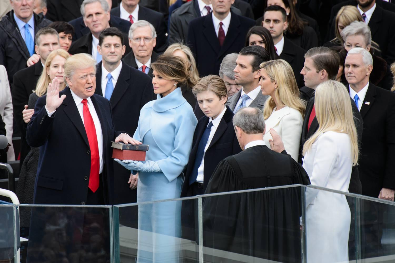 Wall Street, el gran ganador durante el primer año de Donald Trump