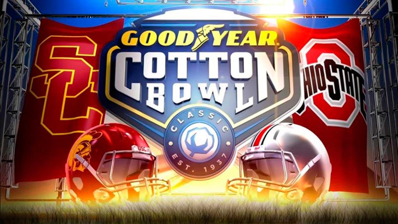 Goodyear diseña mascotas para equipos del Cotton Bowl