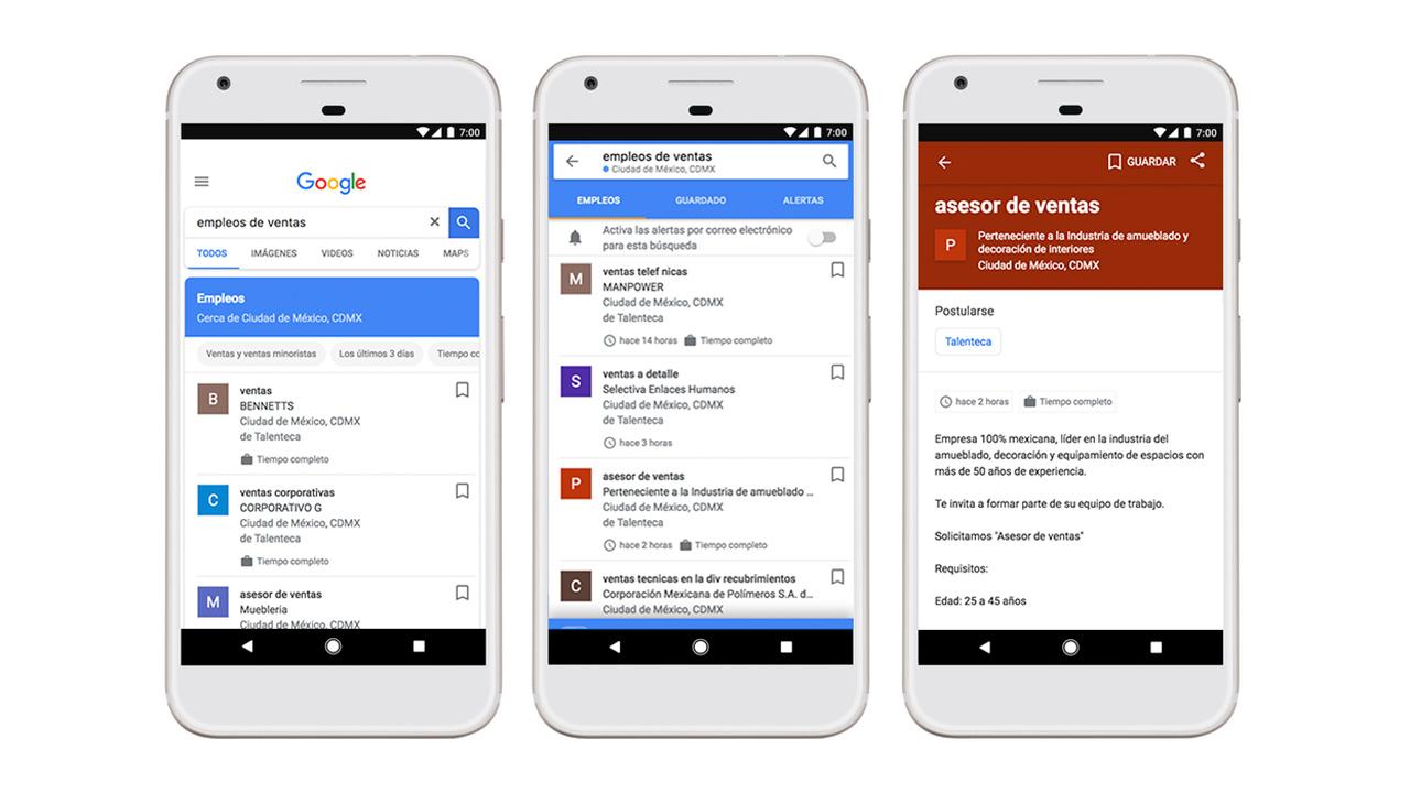 Google quiere ayudarte a buscar (y encontrar) empleo