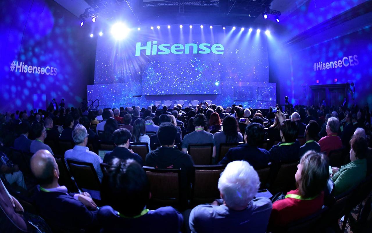 CES 2018 | Hisense transmitirá los partidos de Rusia 2018 con 37 cámaras a la vez