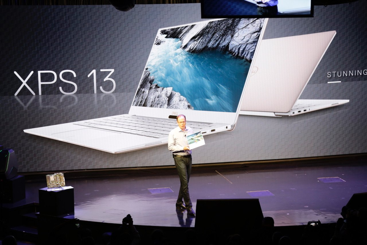 CES 2018 | Dell presenta la laptop de 13 pulgadas más poderosa