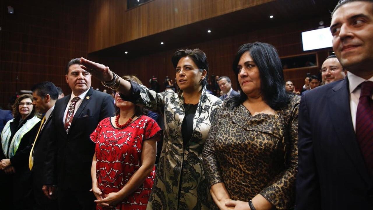 Irene Espinosa rinde protesta como subgobernadora de Banxico
