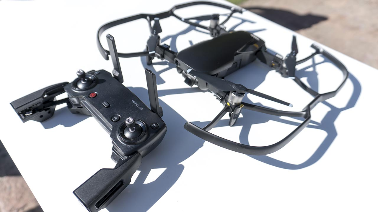 DJI trae a México el Mavic Air, su dron portátil más avanzado