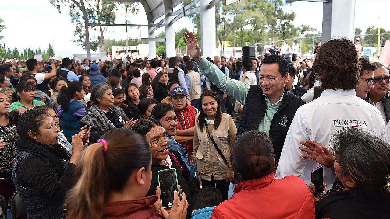 Escaño en el Senado no es premio de consolación: Osorio Chong