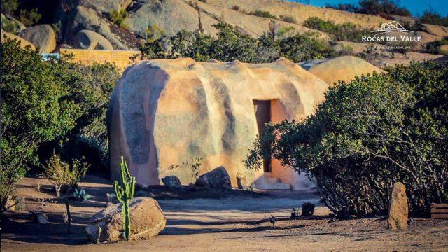 Como en las cavernas: hospédate en el interior de una roca