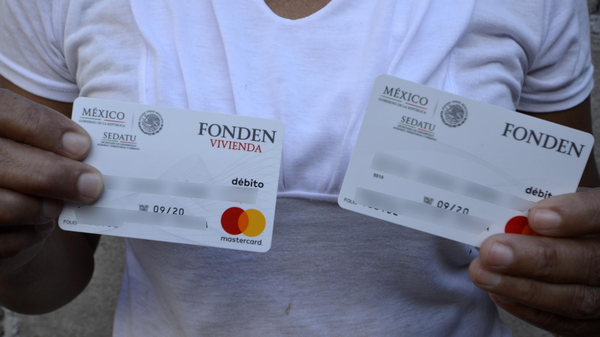 Damnificados de sismo lidian con tarjetas de Bansefi clonadas