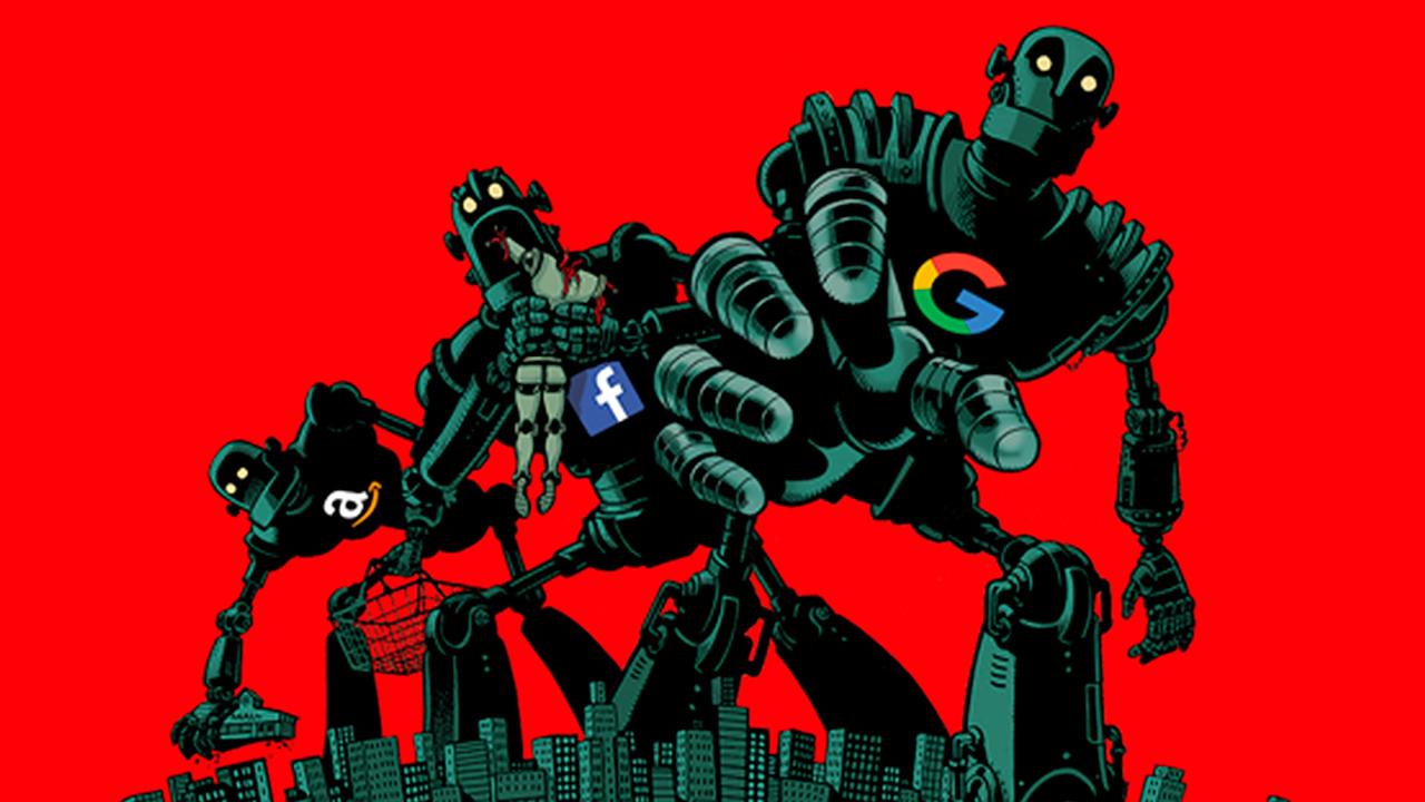 Gigantes tecnológicos, destructivos para la democracia: The Economist