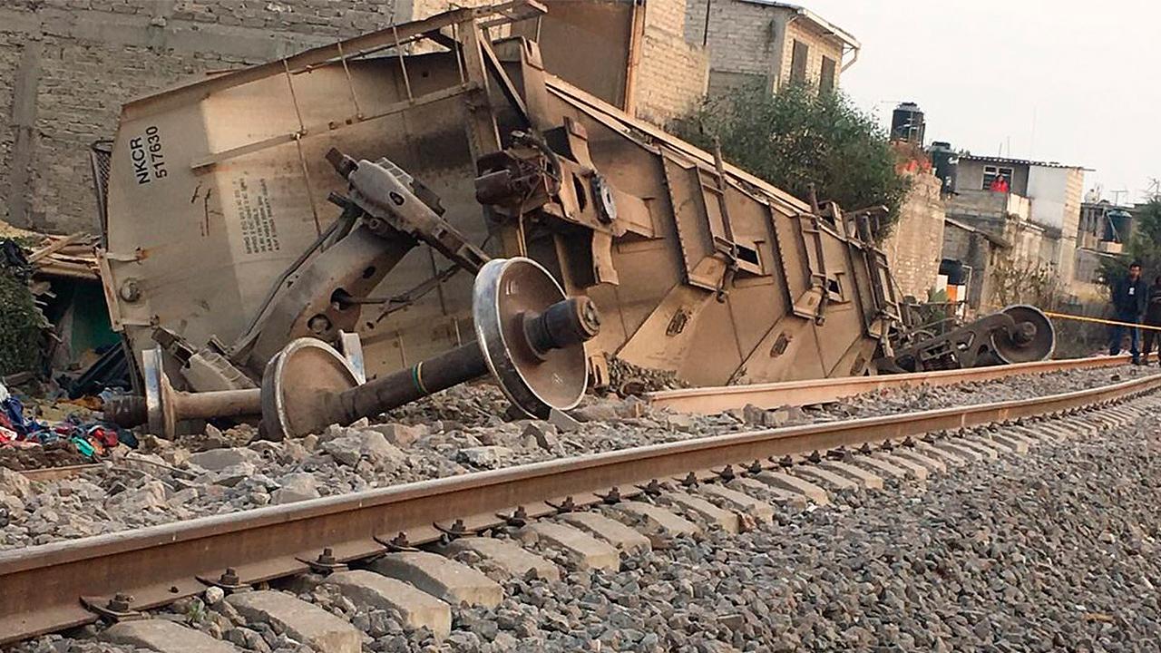 Descarrilamiento de tren en Ecatepec deja saldo rojo