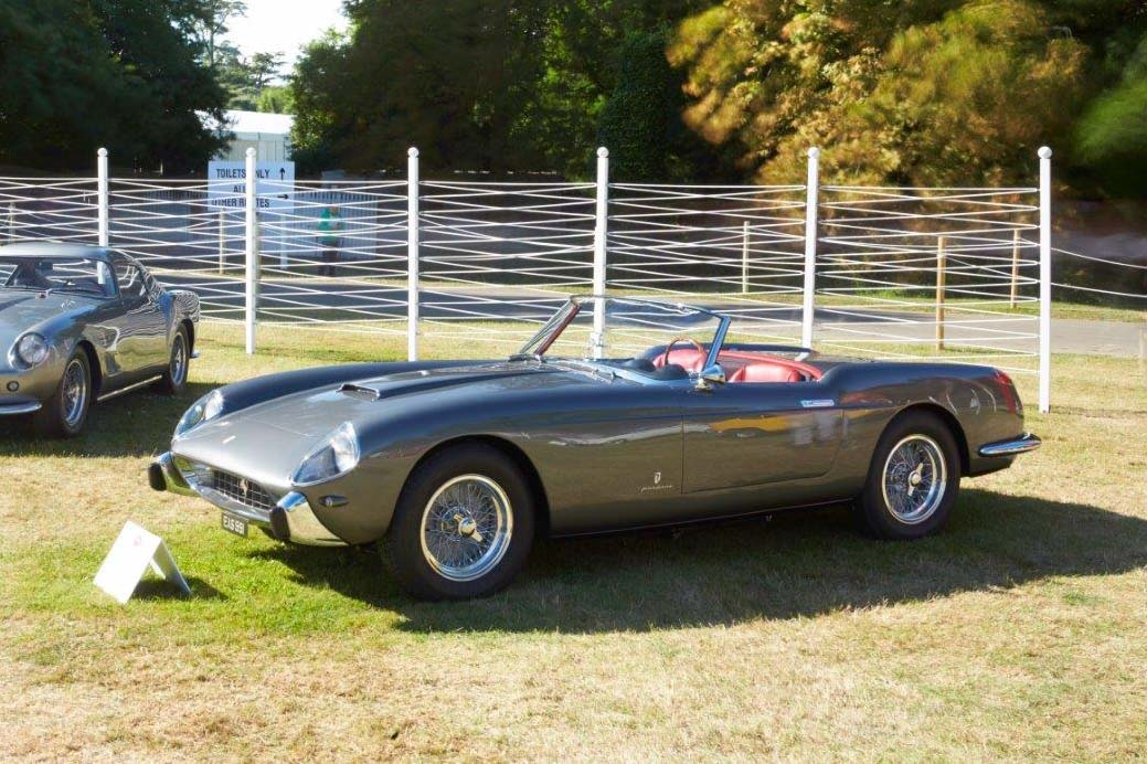 autos clásicos, 19757 Ferrari 250 GT Cabriolet por Pinin Farina, he Peninsula Classics Best of the Best Award