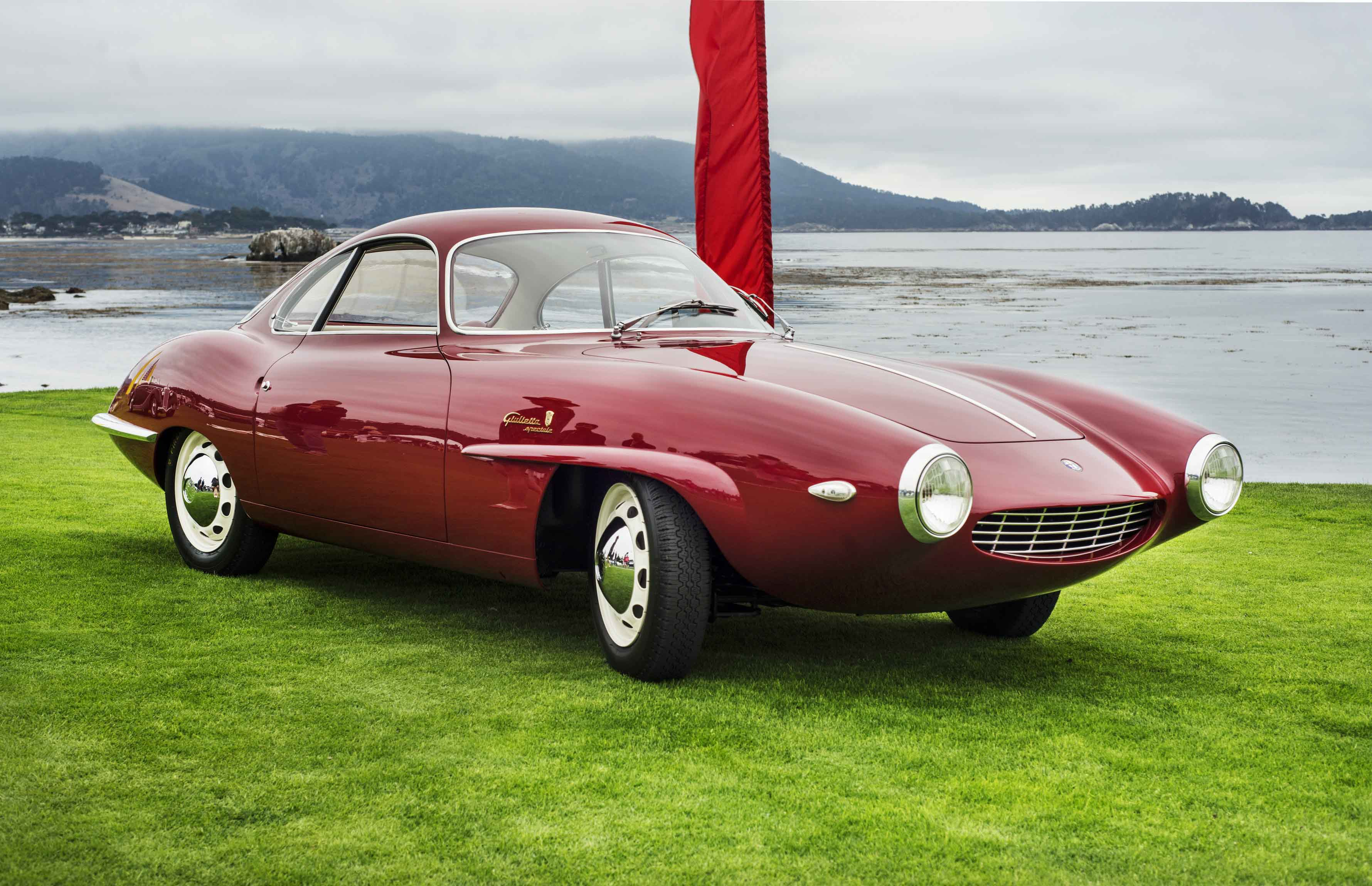 autos clásicos, 1957 Alfa Romeo Giulietta Sprint Speciale Prototipo, The Peninsula Classics Best of the Best Award