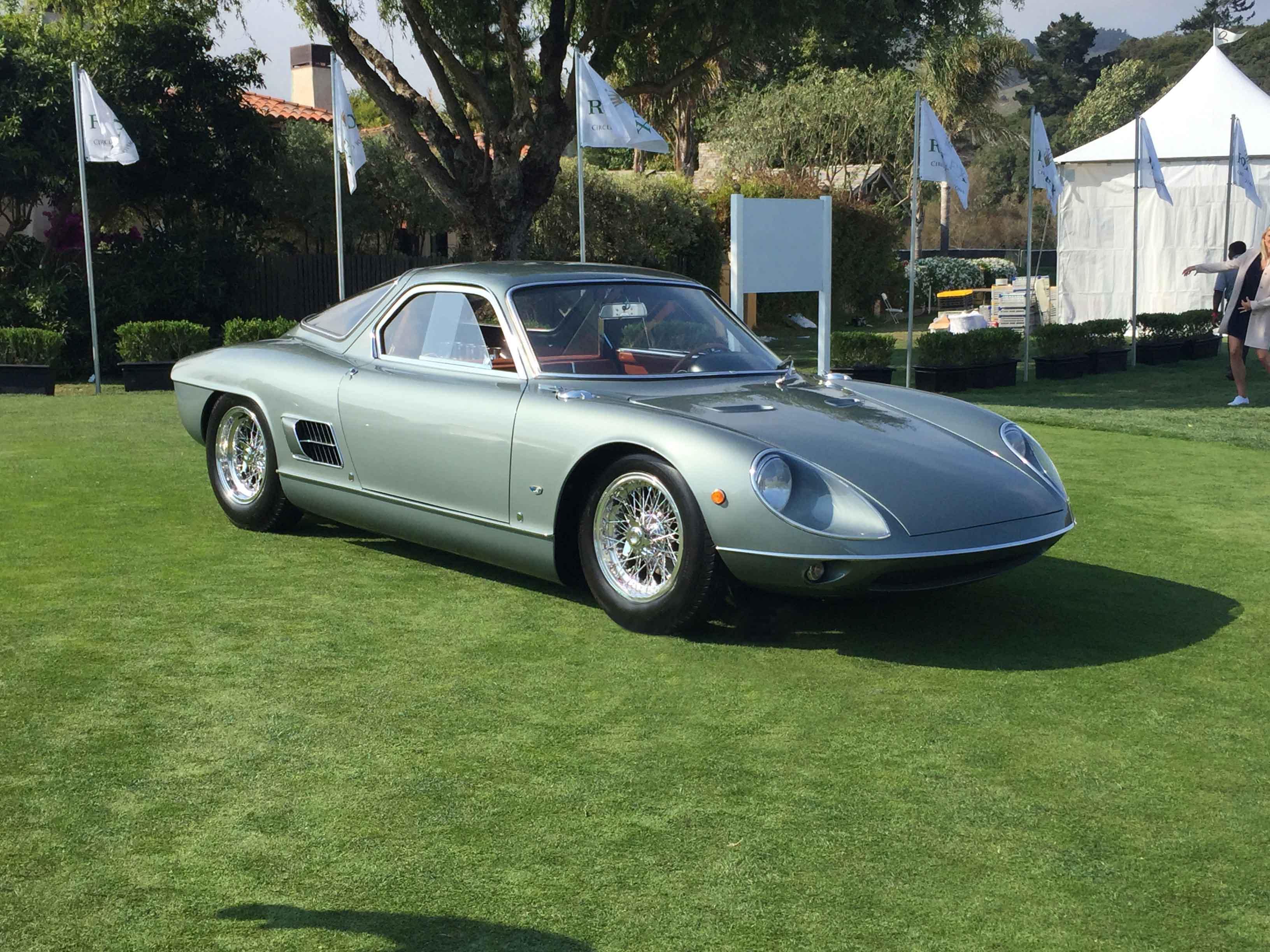 autos clásicos, Peninsula Classics Best of the Best Award, 1964 ATS 2500 GTS Coupé by Allemano